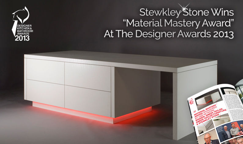 Stewkley Stone Wins Material Mastery Award